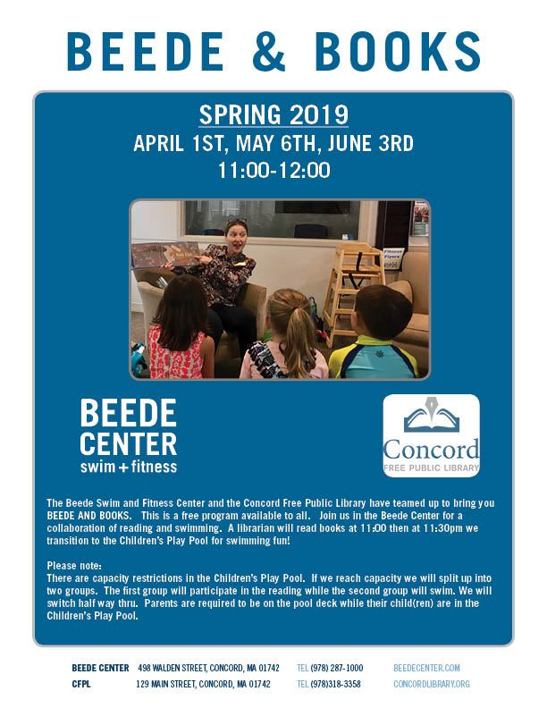 Beede and Books Flyer Spring 2019 Final Version