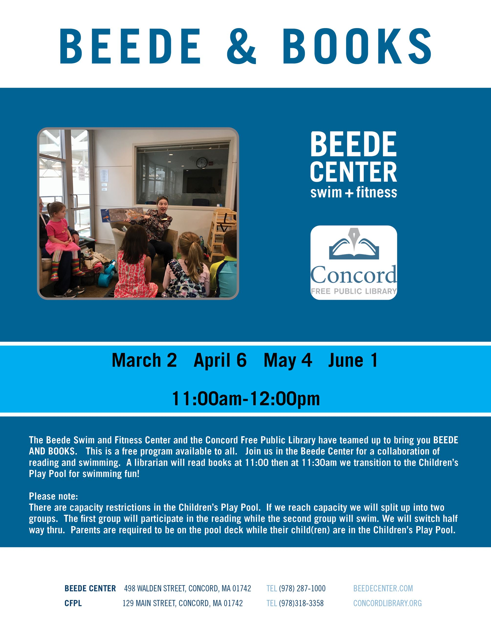 Beede and Books Flyer Winter and Spring 2020